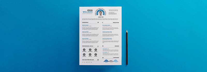academic resume design university