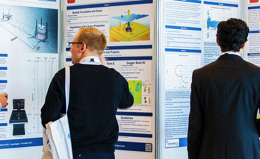 Professional scientific posters graphic design